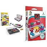 Smart Games SG455 IQ-Puzzler PRO, Geschicklichkeitsspiel, Reisespiel, Gehirntraining & SG 477 IQ Link