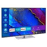 MEDION X15563 146,1 cm (58 Zoll) UHD Fernseher (Smart-TV, 4K Ultra HD, Dolby Vision HDR, MEMC, Micro Dimming, Netflix, Prime Video, WLAN, Triple Tuner, DTS, PVR, Bluetooth)
