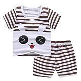 Samore Kleinkind Baby Jungen Mädchen Outfits Sommer Kleidung Sets Cartoon Druck T-Shirt Unterhemd Tank Tops und Short Kurze Hosen Set Baumwolle