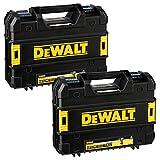 Dewalt T-STAK Werkzeugkoffer für DCD796N, DCD996N, DCD795N, DCD887N, DCF880N & DCF886N, 2 Stück