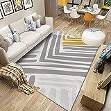 VOVTT Teppichgreifer Antirutschmatte, Antirutschmatte Für Teppich, Rug Grippers Rutschfester Teppichunterlage, Washable Wiederverwendbar Teppich,100x160