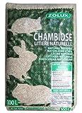Zolux Chambiose 212310 Hanfstreu 100 Liter für Kaninchen, Meerschweinchen, Mäuse oder H