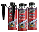 SYPRIN Original Diesel Additiv - Kraftstoffzusatz für alle Dieselmotoren und Dieselsysteme I Dieseladditiv Kraftstoffadditiv Injektoren Injektor - 3X 250