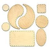 Zita's Creative Korbboden Set gemischt, groß für Peddigrohr 2mm und 3mm - Flechten, Korbflechten, Schilf Set, Peddigrohr, Flechtmaterial, Flechtset, R