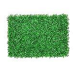 YUNJINGCHENMAN Zäune 14 stücke künstliche Boxwood paneele, Faux Boxwood matten, Outdoor künstliche Hedge dividib Zaun Gras Matte vertikal Garten Pflanzen Balkon Dekoration