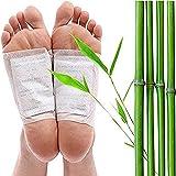 Detox Fußpflaster- 200 Stück Detox Pflaster Fuß, organische Formel, fördert die Durchblutung zur Entfernung von Unreinheiten, Schmerzlinderung, Schlafhilfe, Entspannung