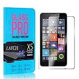 4 Stück Schutzfolie für Microsoft Lumia 640, LAFCH HD Displayschutzfolie Microsoft Lumia 640, Anti-Fingerabdrücke Gehärtetem Glas Panzerglasfoli
