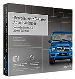 FRANZIS Mercedes-Benz G-Klasse Adventskalender 2020   In 24 Schritten zur Mercedes-Benz G-Klasse unterm Weihnachtsbaum   Ab 14 Jahren