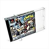 10 x Klarsicht Schutzhüllen für Sony Playstation 1 OVP 0,3mm Passgenau und Glasklar-PET-Reset Retro Game Protectors-PS1 cases-box-Staubdicht-UV-Schutz