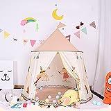 SXZSB Kinderzelt Faltbares Spielzelt Für Kleinkinder Kinder - Ideale Indoor & Outdoor-Geschenke 48 × 48 × 50 Zoll