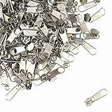 Zipp & Slide® 3 mm Endlosreißverschluss Verschiedene Längen inkl. Zipper 32 Farben zur Auswahl (25 Zipper, Silber)