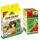 Neudorff TrauermückenFrei (30ml Konzentrat) & 10 Gelb-Sticker Leimfallen Gelbstick