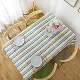 XGguo Wachstuch-Tischdecke Abwaschbar Gartentischdecke Wachstischdecke Plastik-Tischdecken Flachs Plaid ländlich klein frisch