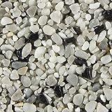 Terralith Marmor - Steinteppich contrasto uno für 1 qm - außen -, Körnung:mittel (4-6 mm)