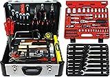 Famex Werkzeuge 720-18 Werkzeugkoffer Set TOP Qualität, mit Steckschlüsselsatz