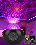 DeepDream LED Sternenhimmel Projektor Galaxy Light mit Batterie 27 Lichtmodus Bluetooth Musikplayer Sternenlicht Projektor Nachtlicht Sternenhimmel für Erwachsene Kinderzimmer Party Weihnachten