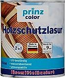 prinzcolor Premium Holzschutzlasur Holzlasur Holzschutz Holzgrundierung Nussbaum 0,75l