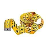 N-K 1X Maßband 120-Zoll-Maßband Nähen Schneider Flachband Körpermaß Lineal Schneiderei Layout-Tool Kreativ und nützlichSicherheit