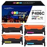 GPC Image Tonerkartusche Kompatibel für Samsung CLT-K406S 406S für Xpress CLP 360 360N 365 365W CLX-3300 3305 3305FN 3305FW 3305W C410W C460 C460FW (Schwarz Cyan Gelb Magenta, 4er-Pack)