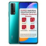 HUAWEI P smart 2021 Dual SIM Smartphone (16,94 cm - 6,67 Zoll, 128 GB interner Speicher, 4 GB RAM, Android 10 AOSP ohne Google Play Store, EMUI 10.1) crush green + 5 EUR Amazon G