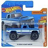 Hot Wheels '70 Dodge Power Wagon (blau) 7/10 HW Hot Trucks 2020 - 152/250 (kurze Karte) GHC39