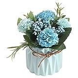 Mini-Kunstpflanzen-Set mit künstlichen Blumen, künstliche Pflanzen für Zuhause, Schreibtischpflanze, Innendekoration, Tulpen-Imitation, R