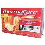 THERMACARE - 2 selbstwärmende Einweg-Bänder für Rückenschmerzen - 8 Stunden
