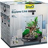 Tetra AquaArt Explorer Line Aquarium-Komplett-Set 60L, Schw