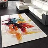 Paco Home Teppich Modern Splash Designer Teppich Bunt Brush Neu OVP, Grösse:160x230