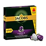 Jacobs Kaffeekapseln Lungo Intenso, Intensität 8 von 12, Vorteilspack, 220 Nespresso®* kompatible Kapseln, 10 x 22 Getränke, nur für kurze Zeit