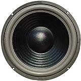 Master Audio 1 WOOFER CW1000/8 Lautsprecher 25,00 cm 250 mm 10' 220 watt rms und 440 watt max impedanz 8 Ohm Haus empfindlichkeit 90 dB, 1 stück