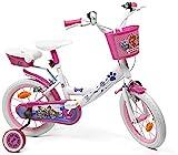 Fahrrad für Mädchen, Elo, Lizenzprodukt Paw Patrol, 16 Zoll, Weiß