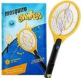 Zenoplige Elektrische Fliegenklatsche, Insektenvernichter Moskito Zapper USB Wiederaufladbar Fliegenfänger Zapper Akku Insekten Mörder Frei von Giftstoffen und Gerüchen Ideal für Drinnen und Drauß