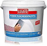 Lugato Feiner Flächenspachtel 5 kg - Glättet Wände und Deck