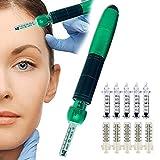 QTCD Hyaluron Pen, Cabrio 0,3 ml und 0,5 ml Hyaluronsäure Spritzenstift, nadelfreier Feuchtigkeitsstift Micro Injector Skin Care Vernebler für Anti-Falten-Lippenlifting