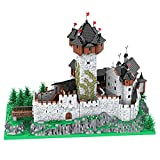 ITop 15539Pcs MOC-65340 European Street View Large Old Castle Gothic Architectural Bricks Model Building Block Kits (Licensed and Designed by PeppePell)