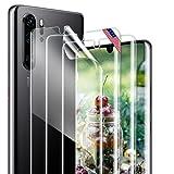 [3 Stück] Schutzfolie Kompatibel Mit Huawei P30 Pro, Huawei P30 Pro Folie Blasenfrei, Hohe Empfindlichkeit, HD-Displayschutzfolie Screen Protector für Huawei P30 Pro
