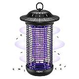 Aerb Elektrischer Insektenvernichter,Insektenfalle Mückenlampe 18W 4000V mit UV-Licht,Keine giftigen Chemikalien,Wirksam zum Reduzieren Fliegender Insekten für Innen Schlafzimmer und Gärten