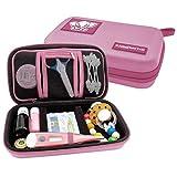 PILLBASE Baby Case Pflegeset leer | Reiseapotheke | Kosmetiktasche unterwegs | Familie | Kulturbeutel | Kulturtasche | tragbar & mobil | Aufbewahrung R