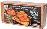 MASTER PIECE Light SIX Zeder 6 Grillbretter aus Zedernholz Grillplanken Premium Qualität, Set à 6 Stk, BBQ Räucherbretter im günstigen 6er Pack