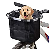 Csatai Fahrradkorb Vorne Faltbare Abnehmbare Wasserdichte Fahrrad Gepäckträger Korb Pet Carrier Frame Bag Lenkerkorbtasche