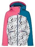 Ziener Mädchen ANTALIA Junior Kinder Skijacke, Winterjacke | Wasserdicht, Winddicht, Warm, Ice Crystal Print, 140