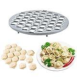 Russische Ravioli-Werkzeug-Set, 37 Löcher, Teigtaschenform, Metall, Pierogi Pelmeni Pie DIY Form für Küche Kochzubehö