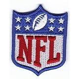 Patch NFL NATIONAL FOOTBALL LEAGUE cm 5,5 x 7 Patch Aufnäher Bügelbild Aufbügler Patches - 276