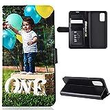 Celefree Personalisierte Foto-Handyhülle Kompatibel mit Sony Xperia 5 II Flipcase Individuelle Ihr Eigenes Bild Foto Brauch Schutzhülle Handy Hülle Tasche Flip Book Case Cover, für Sony Xperia5 2