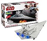 Revell RV06749 Build & Play - Star Wars Imperial Star Destroyer - 06749, Maßstab 1:4000, originalgetreue Nachbildung mit beweglichen Teilen, mit Light&Sound Effekten, robust zum Spielen