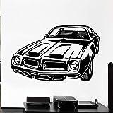 Wandtattoo Auto Rennen Lenkrad Garage Wohnzimmer Menschen Höhle Cool Style Home Decor Wandbild Vinyl Aufkleb