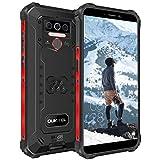 OUKITEL WP5 Outdoor Smartphone Ohne Vertrag, 4G Dual SIM Outdoor Handy, IP68 Wasserdichter, 8000mAh Akku, 4GB 32GB Android 10 Handy, Global Version 5,5 Zoll Triple Kamera Face/Fingerprint ID (Schwarz)