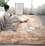 Teppiche Für Wohnzimmer, Fluffy Shaggy Super Weicher Teppich Geeignet Als Schlafzimmerteppich Home Decor Kinderzimmer Teppiche Kindermatte,Khaki,200 * 300cm