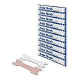 100x Premium Nasenpflaster gegen Schnarchen für besseres Atmen, Schlafen, Sport und Schnupfen - Premium Nasenstrips Anti-Schnarch in Größe L Groß